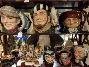 Antique Head Mugs